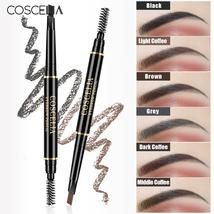 COSCELIA 6 Colors Double-Sided Eyebrow Pencil For Makeup Lasting Pen For Eyebrow - $1.18+