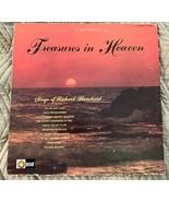 Richard Blanchard - Treasures in Heaven LP Christian Country Light Recor... - $4.94