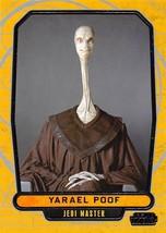 2012 Topps Star Wars Galactic Files #29 Yarael Poof > Jedi Master - €0,86 EUR