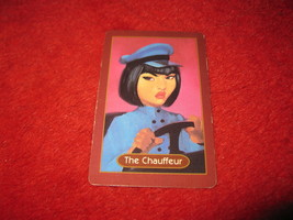 1993 - 13 Dead End Drive Board Game Piece: The Chauffeur Portrait Card - $1.00