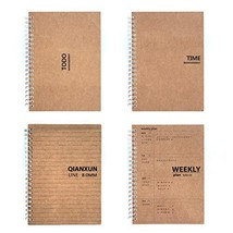 Saibang A5 to Do List Spiral Notebooks Planner and Journal, Undated Dail... - $34.98