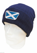BRAND NEW ASBRI CRESTED GOLF WINTER BEANIE HAT. WALES OR SCOTLAND - $18.66