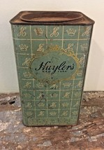 Vintage Huyler's Washington Hard Candies Tin Can Store Display - $12.99