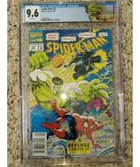 Spider-Man #22 CGC 9.6 (2107084001) Newsstand Edition limited Hulk label - $175.00