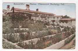 Home Claremont Berkeley California 1910c postcard - $5.94