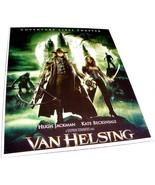 "2004 VAN HELSING Movie 9x11.5"" Color Press Ad Photo Card Stock Hugh Jackman - $9.99"