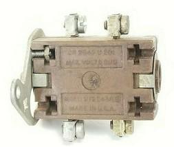 GENERAL ELECTRIC CR2940U201 PUSH BUTTON CONTACT BLOCK, 600VAC