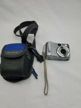 Sony CYBER-SHOT DSC-S60 4.1MP Digital Camera W/ Carl Zeiss Lens See Description - $9.99