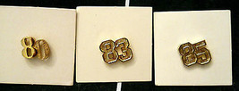 Avon Scatter Pin 1980s Anniversary CLASS REUNION Date Hat Lapel Tack Bac... - $9.88