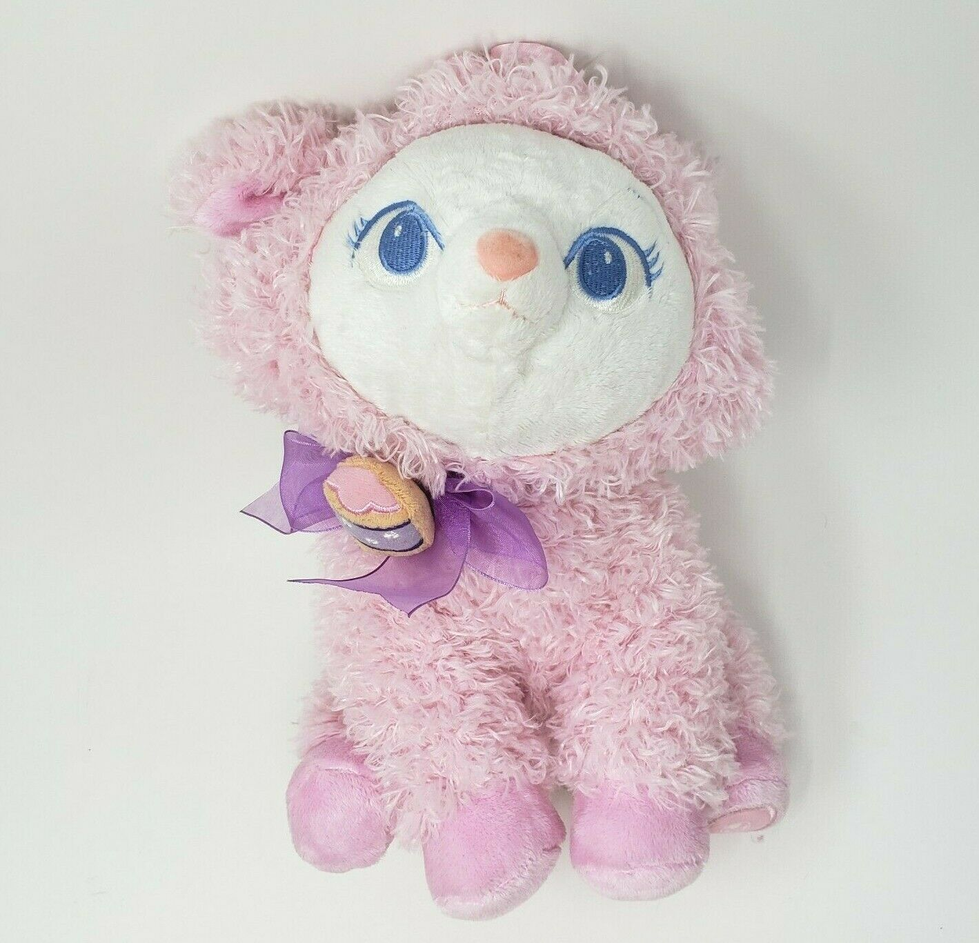 "Primary image for 11"" DISNEY STORE ARISTOCATS EASTER PINK MARIE STUFFED ANIMAL PLUSH TOY CLEAN"