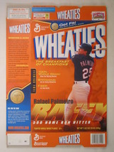 Empty Wheaties Box 2003 18oz Rafael Palmeiro [Z202e8] - $8.77