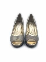 Bandolino Sparkling Gold Bling BD Supermodel Heels Size 10 New - $56.99