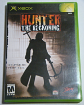 XBOX - HUNTER THE RECKONING (Complete with Manual) - $18.00