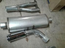 3pcs JBA exhaust system