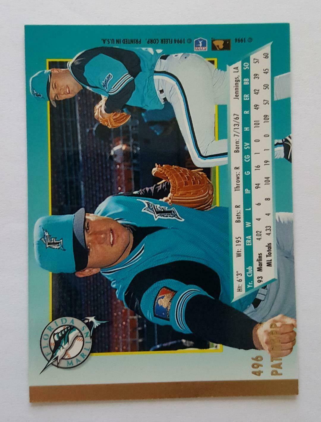 1994 Fleer Ultra + Rookie Card Lot NM Cond w/ Pat Ripp, Clint Davis, Nice Cards image 7