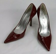 Guess By Marciano Carrie Femmes Classique Talons Chaussures Cuir Supérieur image 3