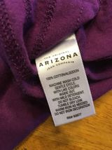 Arizona Girl's Purple Halter Top Shirt / Blouse Size: Medium image 9