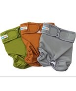 Reusable Washable Dog Diapers 3 Pack Durable Wraps Male and Female Dogs ... - $14.84+