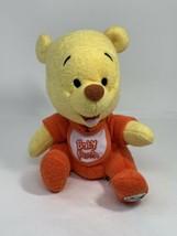 "Walt Disney World Plush 8"" Baby Winnie The Pooh Bean Bag Stuffed Animal  - $12.86"
