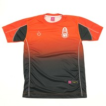 NEW Cappuccino Sport Orange Jersey Size XL 1X Adult Coffee Time Shirt At... - $19.13