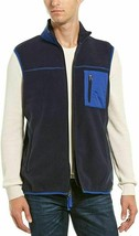 Vintage 1946 Mens Vest Full-Zipped,Mood Indigo, Size M - $25.73