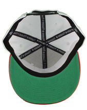Dissizit! Side Bear White Red Brim Snapback Cap Hat California Star Flag image 7