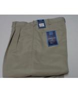 Men's Beige Khaki Slacks Pants CROFT & BARROW NWT Sz 32x32 - $24.74