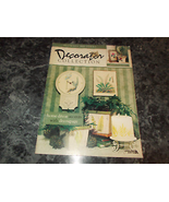 Decorator Collection Flowers and Ferns Home Decor Accents with Decoupage... - $5.99