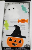 Halloween   **JACK O' LANTERN, GHOST & CANDY**   Gel Clings    NIP - $3.75