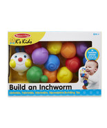 Melissa and Doug Build An Inchworm Developmental Baby Toy 9179 - $10.93