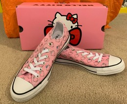 NEW ❤️❤️ Converse Chuck Taylor All Star Hello Kitty Adorable Pink Sz. 7.... - $65.34