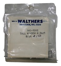 Walthers Tall Window 2 Pane, 941-3042 8/pk. New in package old stock