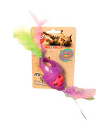 Ethical Assorted Tie Dye Jingle Roller/feathers Catnip 8 Inch 077234520451 - $15.22