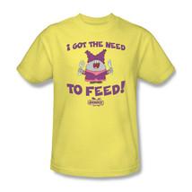 Chowder T-shirt Free Shipping cartoon network 100% cotton yellow tee CN227 image 2