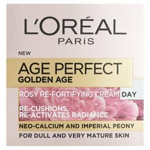 L'Oreal Age Perfect Golden Age Rosy Glow & Radiance Tinted Day Cream 50ml - $14.28