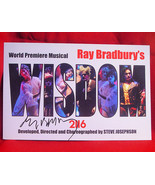 Ray Bradbury WISDOM 2116 signed theatre card. His Last Play And Best Play. - $198.45