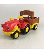 Fisher-Price Little People Tow 'n Pull Tractor Sounds Songs 2011 - $6.79