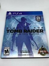 Rise of the Tomb Raider: 20 Year Celebration (PlayStation 4, 2016) Laura Croft's - $19.50