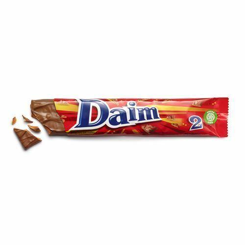 Marabou Daim Dubbel Chocolate Bar Crunchy Almond Caramel Filling Made in Sweden - $3.95 - $52.46