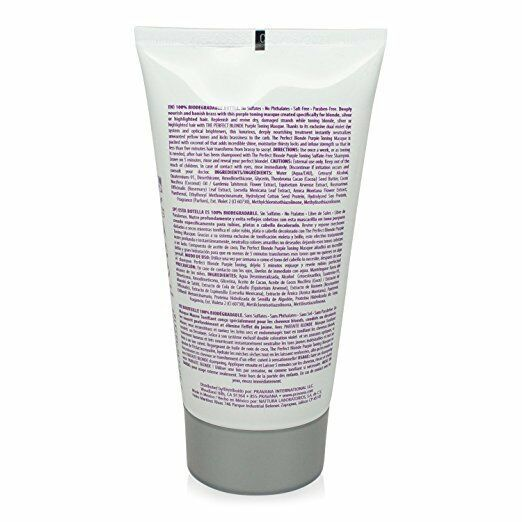 Pravana The Perfect Blonde Purple Toning Masque 5 Oz (pack of 2) image 2