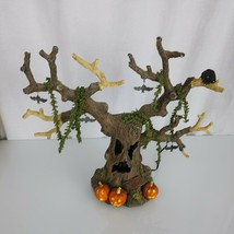 Large Dept 56 Haunted Tree #35020 Halloween Spooky Sounds Lights & Motion - $197.99