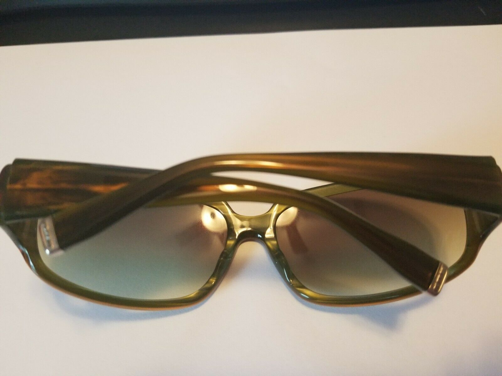 Authentic Oliver Peoples Kirra Tinted Sunglasses Brown Green 63 15-115 ..NEW image 6