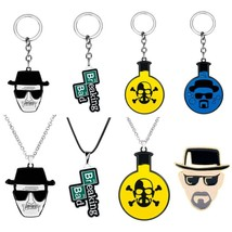 Movie Trinkets Breaking Bad BA BR Heisenberg Keychain Metal Pendant Key ... - $12.00