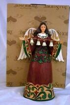 Enesco Jim Shore Heartwood Creek 2007 Sounds Of Joy Ring Out Angel Figur... - $57.51