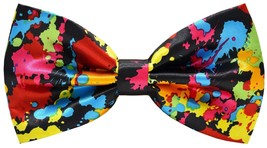 Men Handmade Stylish Patterned Pre-Tied Bow Ties M126 24R - $19.38