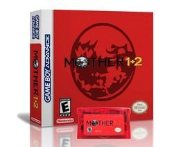 Mother 1 + 2  English Translation GBA Game Boy Earthbound w/ Case Box  U... - $22.99