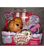 Chubby Puppies Single Pack Golden Doodle w/ Pink Bone VHTF Retired NEW D... - $59.39
