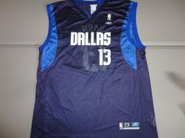 VTG Steve Nash #13 Screen NBA Dallas Mavericks Reebok Jersey Men 2X New wo Tags - $35.39
