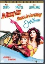 DVD - To Wong Foo Thanks for Everything Julie Newmar DVD  - $15.94
