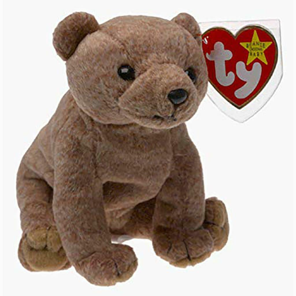Pecan The Bear Retired Ty Beanie Baby Mint Condition with Tags Collectibles